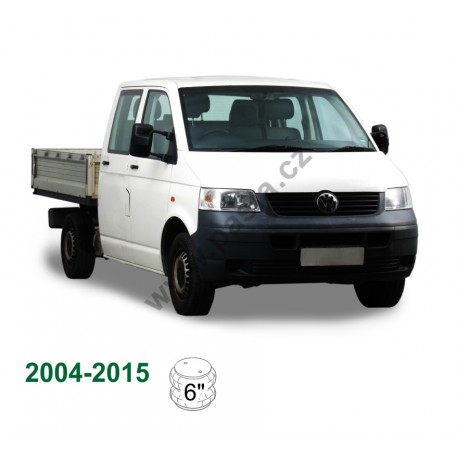 Vzduchové pérování VW T5 Chassis Cab, 04-15 zadní náprava, bez tlumičů a ovládání