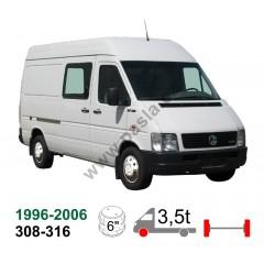 Vzduchové pérování VW LT 96-06, 308,310,312,313,316