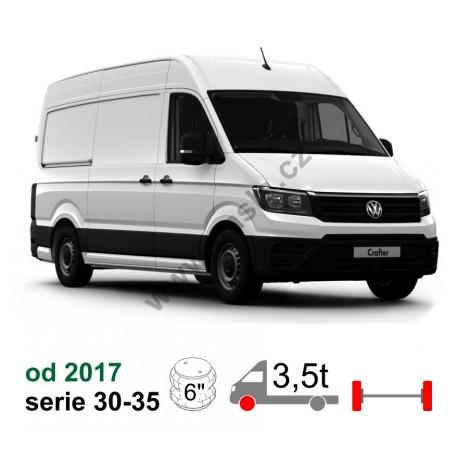 Vzduchové pérování VW Crafter NEW 2017, přední náhon, 2017-* - vyztužená verze
