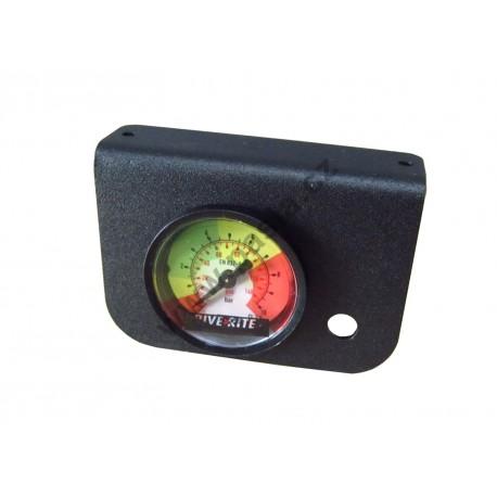 """Měřák tlaku- manometr bez ventilku T-spojka (6mm,1/4"""")"""