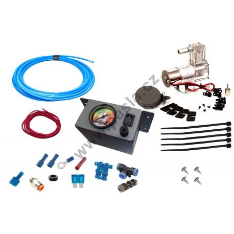 Kompresor KIT 2015 se single ovládáním, jedno ovládání a měření