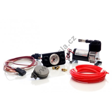 Kompresor II s duálním ovládáním, dvě ovládání a měření