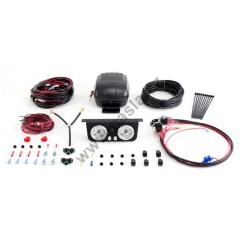 Kompresor KIT 2012 s duálním ovládáním a senzorem tlaku, dvě ovládání a měření