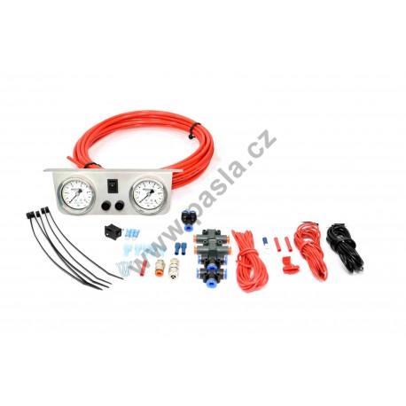 KIT s duálním ovládáním, dvě ovládání a měření bez hlídání tlaku a bez kompresoru