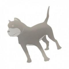 Znak DOG samolepící METAL velký