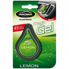 Osvěžovač vzduchu CAR MAGIC GEL lemon