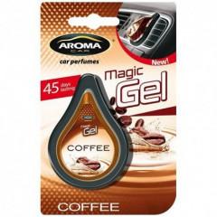 Osvěžovač vzduchu CAR MAGIC GEL coffee
