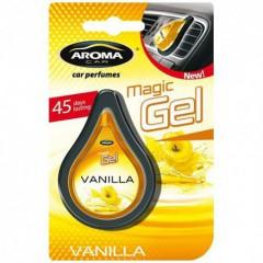 Osvěžovač vzduchu CAR MAGIC GEL vanilla