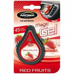 Osvěžovač vzduchu CAR MAGIC GEL red fruits