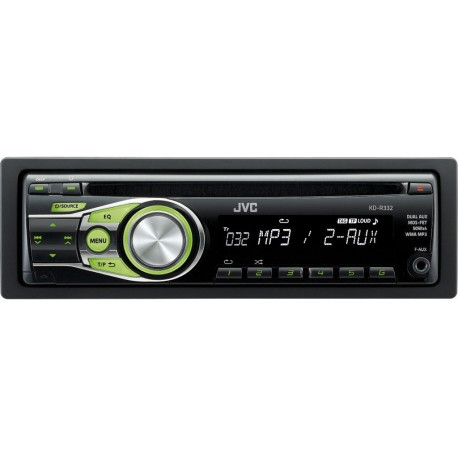 JVC KD R332 AUTORÁDIO S CD/MP3