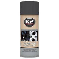 K2 COLOR FLEX 400 ml (černá matná)