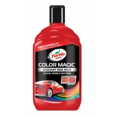 Turtle Wax® COLOR MAGIC Barevný vosk - červený 500ml