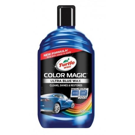 Turtle Wax® COLOR MAGIC Barevný vosk - modrý 500ml