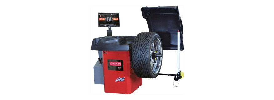 Vybavení pneuservisů